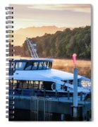 Sunrise Cruise To Doubtful Sound Spiral Notebook