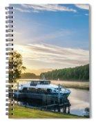 Sunrise Cruise To Doubtful Sound, New Zealand Spiral Notebook