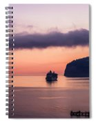 Sunrise Departure Spiral Notebook