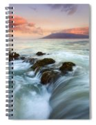 Sunrise Drain Spiral Notebook