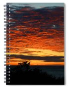 Sunrise Drama By The Sea Spiral Notebook