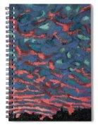 Sunrise Embers Spiral Notebook