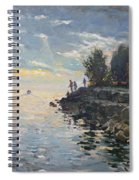 Sunrise Fishing Spiral Notebook