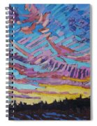 Sunrise Freezing Rain Deformation Zone Spiral Notebook