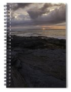 Sunrise From Beavertail In Jamestown Rhode Island Spiral Notebook