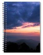 Sunrise From Tiger Hill In Darjeeling Spiral Notebook