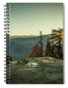 Sunrise Glacier Point Spiral Notebook