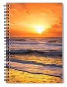 Sunrise Gulf Shores Alabama Beach Spiral Notebook