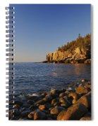 Sunrise In Acadia Spiral Notebook