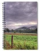 Sunrise In Boxley Valley Spiral Notebook