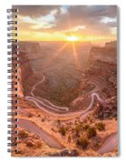 Sunrise In Canyonlands Spiral Notebook