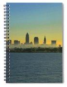 Sunrise In Cleveland Ohio Spiral Notebook