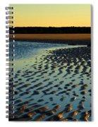 Sunrise In Gold Spiral Notebook