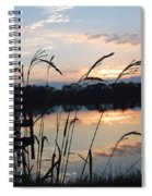Sunrise In Grayton 3 Spiral Notebook