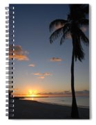 Sunrise In Key West 2 Spiral Notebook