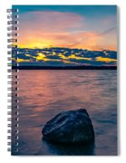 Sunrise In Motion Spiral Notebook