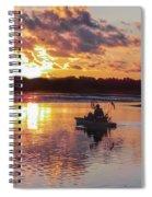 Sunrise In Murrells Inlet, Sc Spiral Notebook
