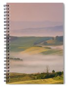 Sunrise In The Tuscany Spiral Notebook