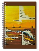 Sunrise In The West Spiral Notebook