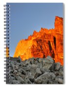 Sunrise In Torres Del Paine Spiral Notebook
