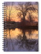 Sunrise Lake Reflections Spiral Notebook