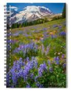Sunrise Meadow Spiral Notebook