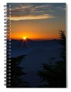 Sunrise Myrtle Point Spiral Notebook