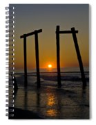 Sunrise At Ocean City Spiral Notebook
