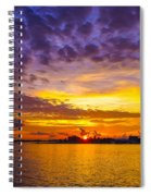 Sunrise, New Orleans Spiral Notebook