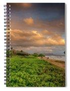 Sunrise Nukolii Beach Kauai Hawaii 7r2_dsc4068_01082018 Spiral Notebook