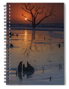 Sunrise On Boneyard Beach Spiral Notebook