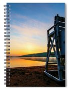 Sunrise On Eighth Lake 1 Spiral Notebook