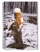 Sunrise On Lady Of The Snow Spiral Notebook