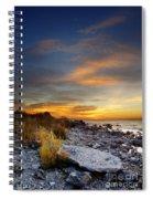 Sunrise On Mackinac Island Spiral Notebook