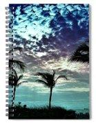 Sunrise On Miami Beach Spiral Notebook