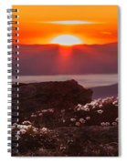 Sunrise On Mount Clay 2 Spiral Notebook