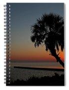 Sunrise On Pleasure Island Spiral Notebook