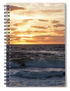Sunrise On Pompano Beach Pompano Florida Spiral Notebook