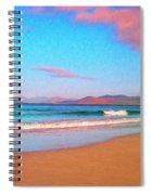 Sunrise On Sea Of Cortez Spiral Notebook