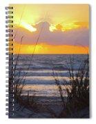 Sunrise On The Atlantic Spiral Notebook
