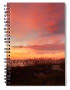 Sunrise On The Atlantic Ocean Spiral Notebook