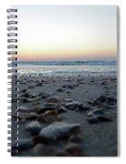 Sunrise On The Beach Spiral Notebook