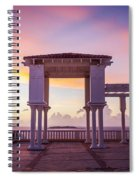 Sunrise On The Caribbean Spiral Notebook