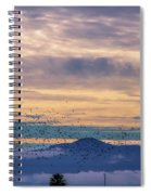 Sunrise On The Highway Spiral Notebook