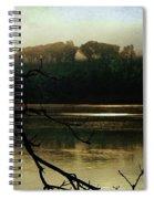 Sunrise On The Hudson River, No. 14 Spiral Notebook