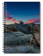 Sunrise On The Jeffrey Pine Spiral Notebook
