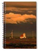 Sunrise On The Prairie Spiral Notebook