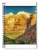 Sunrise On The Rocks Spiral Notebook