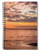 Sunrise On The Shore  Spiral Notebook