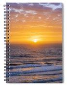 Sunrise Over Atlantic Ocean Spiral Notebook